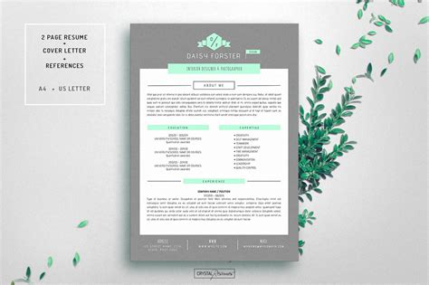 Theme Cv Word by Resume Cv Template For Word Resume Templates Creative