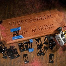 rockler interlock signmakers templates state park font