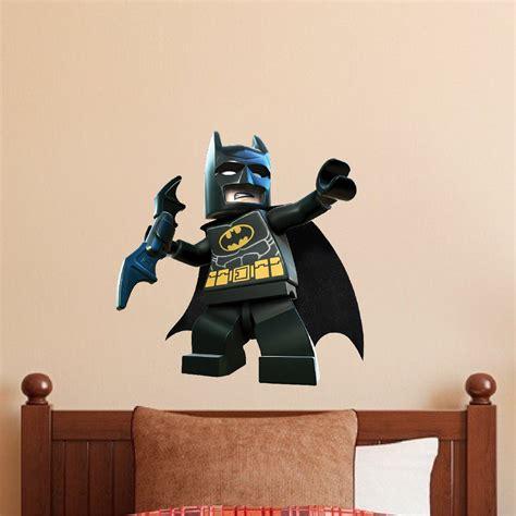 lego batman wall decal superhero wall design  dark