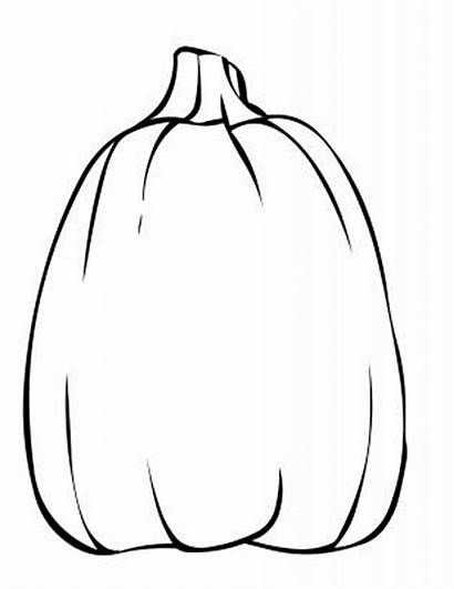Pumpkin Coloring Blank Printable Drawing Spookley Benefits