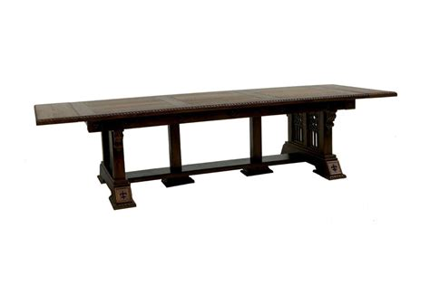 wave gothic dining table  eric  saperstein