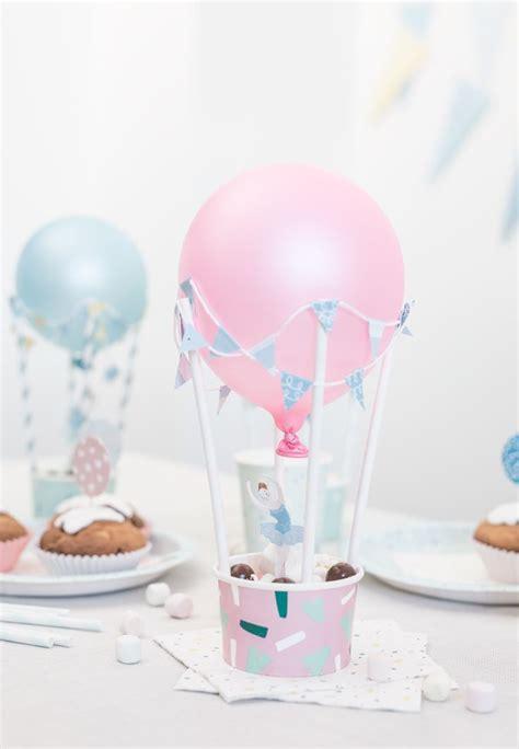 diy hot air balloons   party table diy