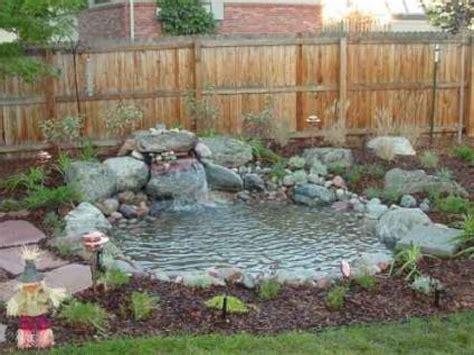 backyard pond designs small garden pond design ideas