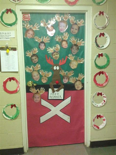 preschool door decorations for christmas door decorations