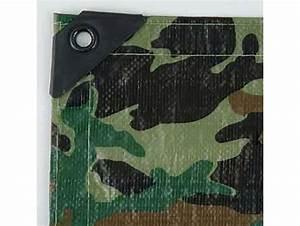 Bache De Protection Peinture : b che peinture camouflage 150g m ~ Edinachiropracticcenter.com Idées de Décoration