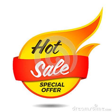 hot sale vector flaming label stock vector illustration