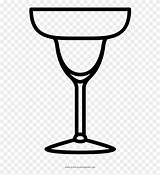 Clipart Margarita Glass Glasses Coloring Lime Icon Transparent Template Webstockreview sketch template