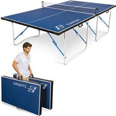 table tennis table indoor outdoor ping pong foldable portable return board paddles racket balls