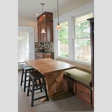 17 Best Ideas About Bench Kitchen Tables On Pinterest