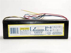 Philips Advance 120 Volt Two Lamp F96t12  Ho Magnetic