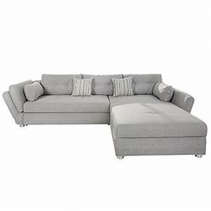 Couch Mit Schlaffunktion Günstig : m bel24 m bel g nstig modernes ecksofa vice mit schlaffunktion hellgrau mit bettkasten ~ Eleganceandgraceweddings.com Haus und Dekorationen