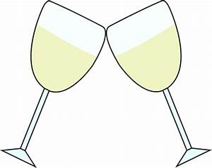 champagne glasses clipart