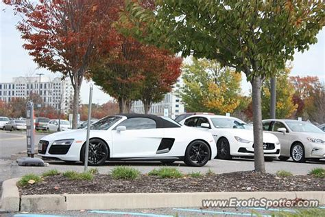 audi r8 spotted in cherry hill new jersey 10 31 2015