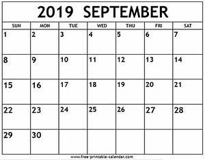 Training Roster Template September 2019 Printable Calendar