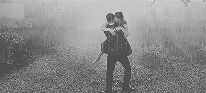 Rainy Rain Cold Why Gifs Romance Couple