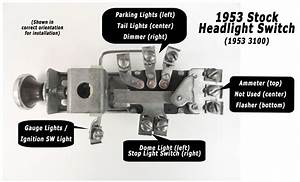1973 Chevy Pickup Headlight Switch Wiring  1973  Free