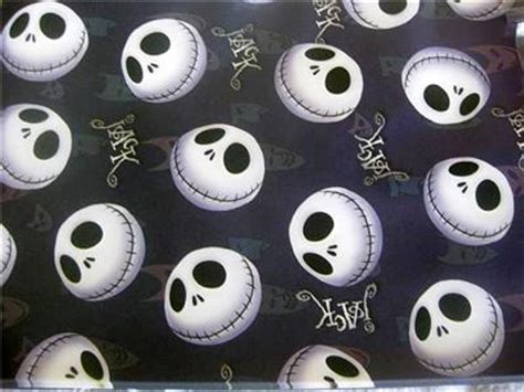 nightmare before christmas party wrapping paper gift x6 ebay
