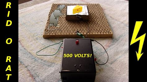 Rid Rat Homemade Electronic Pest Control Device Youtube
