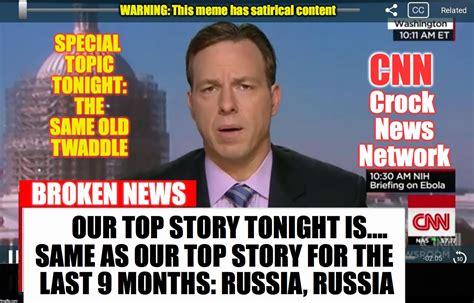 Cnn Memes - cnn crock news network imgflip