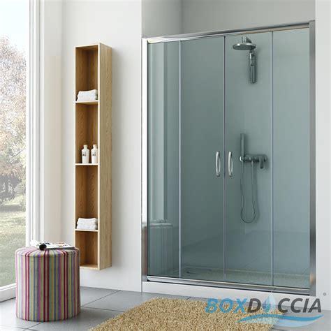 box doccia a parete box cabina doccia nicchia parete porta bagno cristallo