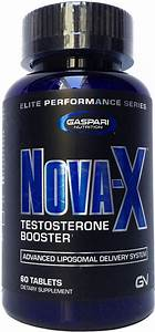 Gaspari Nutrition Nova X Testosterone Booster 60 Tablets Bodybuilding Program
