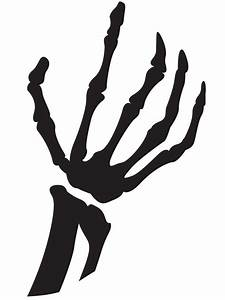 Skeleton, Hand, Pumpkin