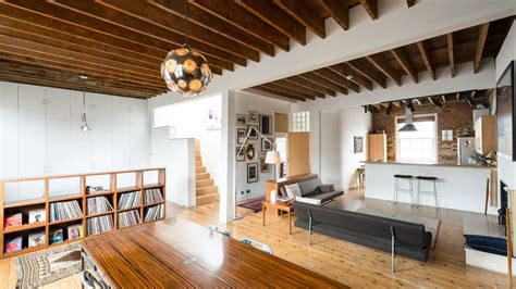 converted loft  roof terrace asks   london curbed