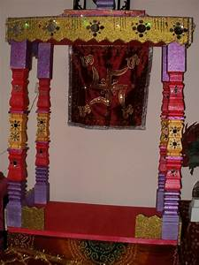 Asmi's Creations: GANPATI DECORATION