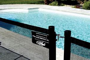 Barrière De Piscine Escamotable : barri re de piscine en filet souple d montable et ~ Premium-room.com Idées de Décoration