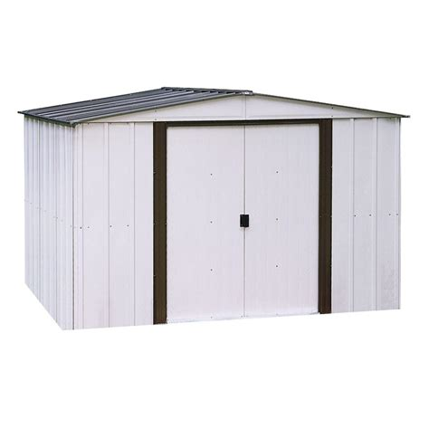 arrow 10x12 metal shed manual arrow newport 10 ft x 8 ft steel shed np10867 the home
