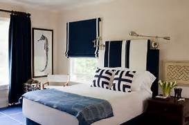 Navy Blue Interior Design Idea Navy Blue And White Is A Classic Combination In The Boys 39 Bedroom That