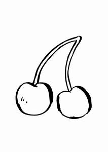 Cherry Pluras / Cherries Coloring Pages Ideas   Fantasy ...