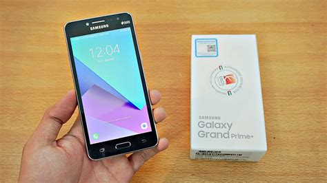 samsung galaxy grand prime plus unboxing 4k youtube
