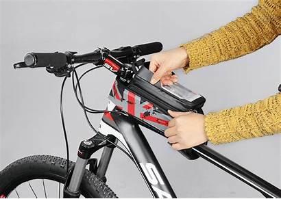 Tube Bag Bike Waterproof Bicycle Cycling Touch