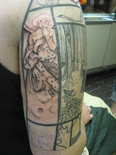 sarah diemers blog written   skin  fairy tale tattoo sleeve   stories change