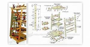 Mobile Clamp Rack Plans • WoodArchivist