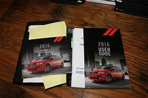 2016 Dodge Grand Caravan Owners Manual With Case Dod1730