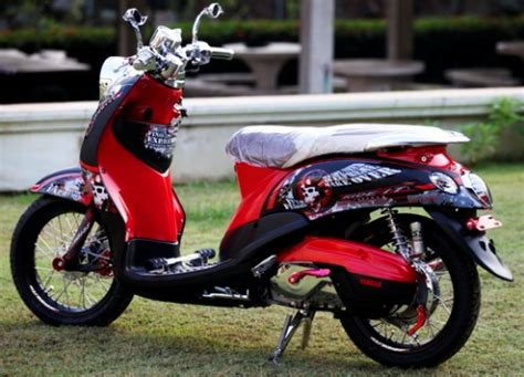Mio Babylook Hitam by Foto Modifikasi Motor Yamaha Mio Fino Terbaru Simple Acre