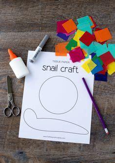easy snail craft  kids    printable