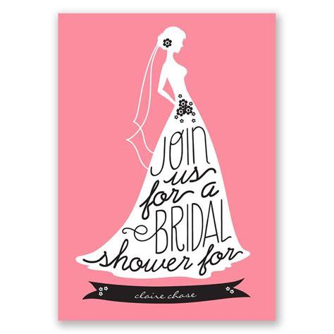 bridal shower chic typography bridal shower invitation invitations by dawn