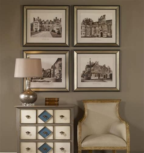 Uttermost Wall Pictures by Uttermost Cottage Set Of 4 Framed Prints