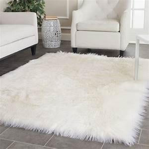 Tapis Fourrure Ikea : white shag rug throw faux sheepskin rug ikea pic 53 rugs ~ Teatrodelosmanantiales.com Idées de Décoration