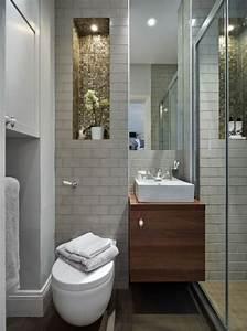 Meuble Salle De Bain Bois Gris : comment am nager une salle de bain 4m2 ~ Edinachiropracticcenter.com Idées de Décoration
