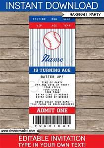 baseball ticket invitation template baseball invitations With sports ticket template free download