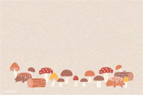 autumn themed background vector premium image