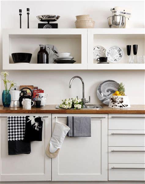 cocinas  estantes abiertos