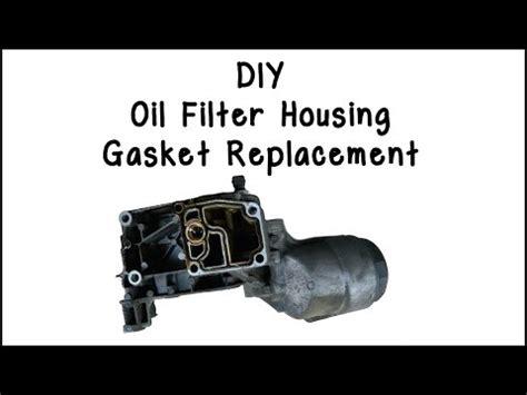 Bmw Oil Filter Housing Gasket Diy Funnydog