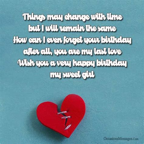 Happy birthday wishes, quotes, greeting cards for ex girlfriend with text messages: Happy Birthday Quotes to My Ex Girlfriend | BirthdayBuzz