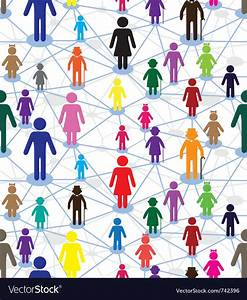 Generation Diagram People Royalty Free Vector Image
