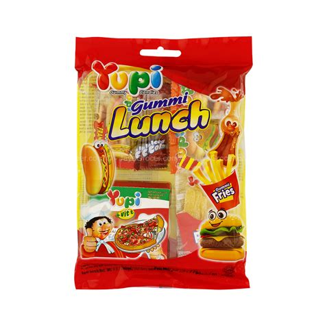Yupi Gummy Candies Sour jaya grocer yupi gummy lunch gummy candies fresh